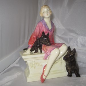 Royal Doulton Figurine Scotties HN1281